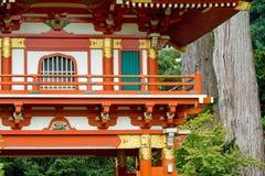 庭院日本人茶 免版税图库摄影