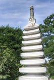 庭院日本人雕塑 图库摄影