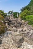 庭院日本人雕塑 免版税图库摄影