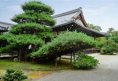 庭院日本日语京都 库存照片