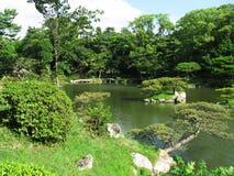 庭院日语 库存照片