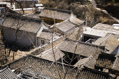 庭院朝代房子ming典型 免版税库存照片