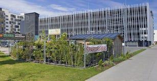 庭院果子和园林植物销售  免版税库存图片