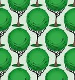 庭院树 免版税库存图片