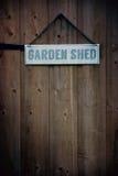 庭院棚子 库存照片