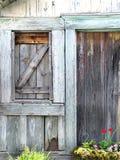 庭院棚子 免版税库存图片