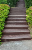 庭院楼梯 库存照片