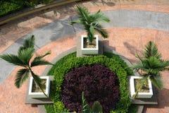 庭院横向 库存图片