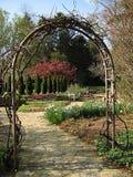 庭院横向 免版税图库摄影