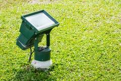 庭院泛光灯 免版税图库摄影