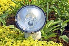 庭院泛光灯 库存图片