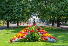 庭院波兰撒克逊人华沙 库存图片
