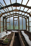 庭院温室 图库摄影