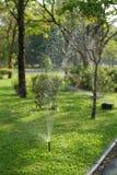 庭院灌溉系统 库存照片