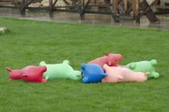 庭院玩具 免版税库存图片