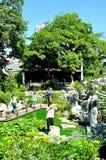 庭院甘巴里 库存照片