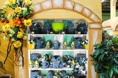 庭院的装饰项目购物中心的Mondoverde Taneto, 图库摄影