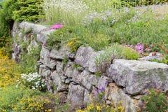 庭院石头 库存图片