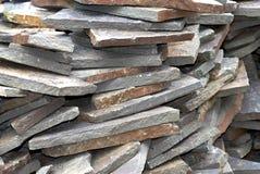 庭院石头 免版税库存照片