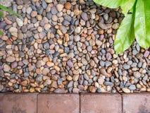 庭院石头 免版税图库摄影