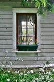 庭院窗口 库存照片