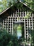 庭院结构 库存图片