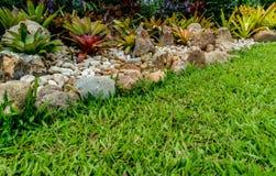 庭院绿色零件 免版税库存照片