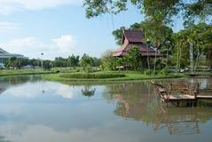 庭院美妙的泰国 免版税库存照片