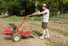 庭院耕种 图库摄影