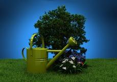 庭院耕种 库存照片