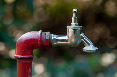 庭院自来水 免版税库存图片