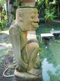 庭院装饰的雕塑 图库摄影