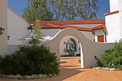 庭院西班牙语 免版税库存图片