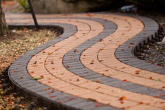 庭院路径石头 免版税库存照片