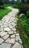 庭院路径 免版税库存照片