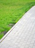 庭院运输路线 库存照片