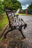 庭院长凳 免版税库存照片