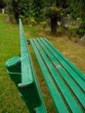 庭院长凳 库存图片