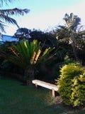 庭院长凳 图库摄影