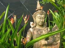 庭院雕象泰国 免版税图库摄影