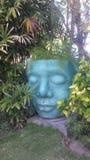 庭院面具 库存照片