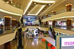 庭院马来西亚购物中心购物 免版税库存照片