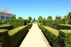 庭院,布朗库堡,葡萄牙 免版税库存图片
