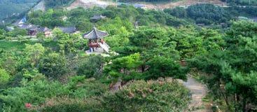 庭院(汉城,韩国) 库存照片
