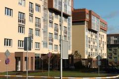 庭院 现代的结构 假定大教堂dmitrov克里姆林宫莫斯科明信片区域俄国冬天 免版税库存照片