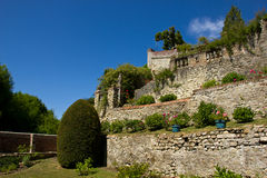 庭院henri le中世纪s sidaner 库存图片