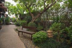 庭院japaness 库存图片