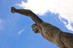 庭院mirabell萨尔茨堡雕象 库存图片