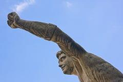庭院mirabell萨尔茨堡雕象 免版税库存图片