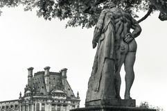庭院tuileries 免版税库存照片